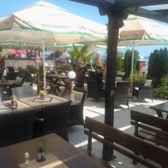 Отель Carina Beach Aparthotel - Free Private Beach бассейн