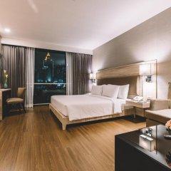 Отель Adelphi Suites Bangkok 4* Студия с различными типами кроватей фото 13