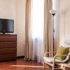 Апарт Отель Холидэй 3* Коттедж разные типы кроватей фото 9