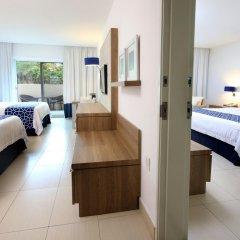 Отель Holiday inn Acapulco La Isla 3* Люкс с различными типами кроватей фото 4