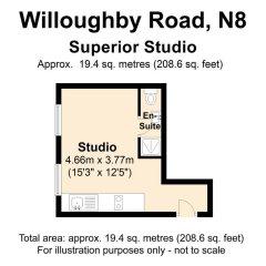 Апартаменты Linton Apartments Улучшенная студия с различными типами кроватей фото 6