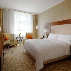Гостиница Marriott Novy Arbat 5* Улучшенный номер с различными типами кроватей фото 2
