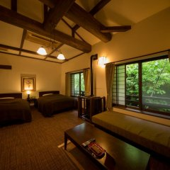 Отель Fujiya Япония, Минамиогуни - отзывы, цены и фото номеров - забронировать отель Fujiya онлайн комната для гостей фото 5