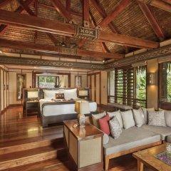Отель Likuliku Lagoon Resort - Adults Only 5* Бунгало с различными типами кроватей фото 3
