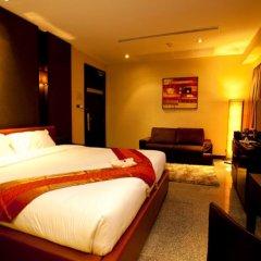 Отель Pietra Ratchadapisek Bangkok Таиланд, Бангкок - отзывы, цены и фото номеров - забронировать отель Pietra Ratchadapisek Bangkok онлайн комната для гостей фото 4