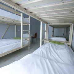 Хостел Bla Bla Hostel Rostov Кровать в мужском общем номере с двухъярусной кроватью фото 14