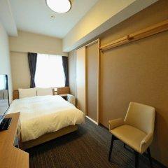 Отель Dormy Inn Tokyo-Hatchobori Natural Hot Spring 3* Номер Бизнес с различными типами кроватей фото 2