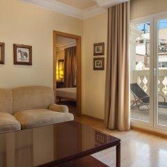 Отель Melia Plaza Valencia 4* Полулюкс с различными типами кроватей фото 3