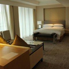 Отель Marco Polo Lingnan Tiandi Foshan Улучшенный номер с различными типами кроватей фото 2
