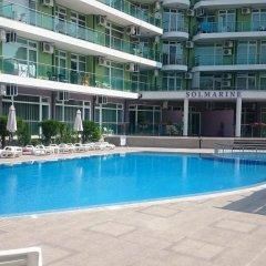 Отель VIP Apartment in Sunny Beach Болгария, Солнечный берег - отзывы, цены и фото номеров - забронировать отель VIP Apartment in Sunny Beach онлайн бассейн фото 2