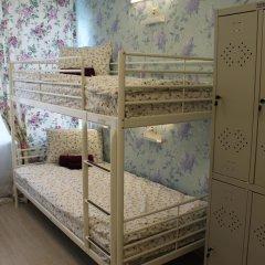 Хостел Ника-Сити Кровать в женском общем номере с двухъярусными кроватями фото 17