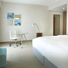 Отель Courtyard by Marriott Brussels EU 4* Стандартный номер с различными типами кроватей фото 8