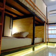 Sleep Owl Hostel Кровать в общем номере с двухъярусной кроватью фото 12