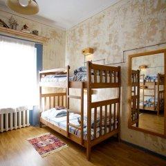 Хостел M42 Кровать в общем номере с двухъярусной кроватью фото 47