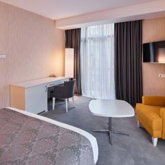Отель Gallery Palace 4* Улучшенный номер с различными типами кроватей фото 3