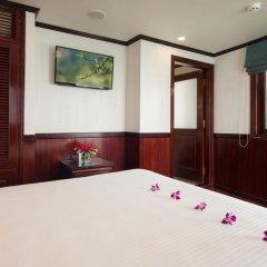 Отель Halong Silversea Cruise 3* Номер Делюкс с различными типами кроватей фото 4