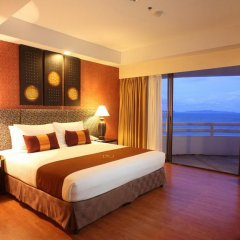 Отель D Varee Jomtien Beach 4* Представительский люкс с различными типами кроватей фото 13