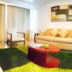 Отель D Varee Jomtien Beach 4* Представительский люкс с различными типами кроватей фото 16