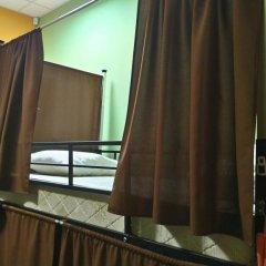 Гостиница Travel Inn Aviamotornaya 2* Кровать в общем номере с двухъярусной кроватью фото 7