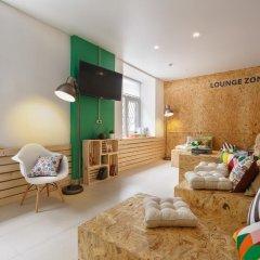 Nice Hostel Павелецкая Люкс с различными типами кроватей фото 12