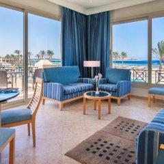 Отель Cleopatra Luxury Resort Makadi Bay 5* Представительский люкс с различными типами кроватей фото 2