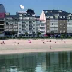 Отель Aptos Duerming Portonovo Pico пляж фото 2
