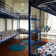Хостел Nicely Кровать в общем номере с двухъярусной кроватью фото 4