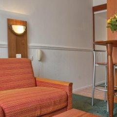 Отель Pavillon Courcelles Parc Monceau 3* Студия с различными типами кроватей фото 7