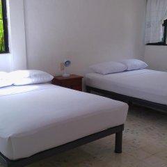 Отель Hostal Haina Мексика, Канкун - отзывы, цены и фото номеров - забронировать отель Hostal Haina онлайн комната для гостей фото 4