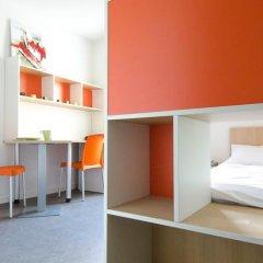 Отель Apparteo Lyon 7 Gerland Франция, Лион - отзывы, цены и фото номеров - забронировать отель Apparteo Lyon 7 Gerland онлайн интерьер отеля