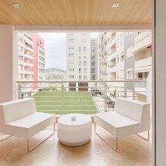 Отель The Rooms Hotel, Residence & Spa Албания, Тирана - отзывы, цены и фото номеров - забронировать отель The Rooms Hotel, Residence & Spa онлайн балкон