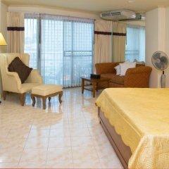 Отель Jomtien View Talay Studio Apartments Таиланд, Паттайя - отзывы, цены и фото номеров - забронировать отель Jomtien View Talay Studio Apartments онлайн комната для гостей фото 5