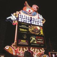 Circus Circus Hotel, Casino & Theme Park 3* Номер Casino tower с различными типами кроватей фото 4