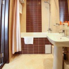 Гостиница Комплекс апартаментов Комфорт Улучшенная студия с различными типами кроватей фото 25