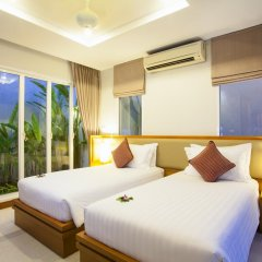 Отель APSARA Beachfront Resort and Villa 4* Улучшенный номер с различными типами кроватей фото 7