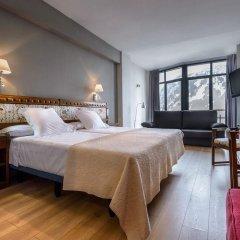 Hotel Edelweiss Candanchu 3* Стандартный семейный номер с двуспальной кроватью фото 12