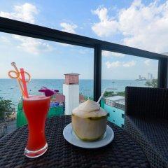 Отель Deep Blue Z10 Pattaya Стандартный номер с различными типами кроватей фото 24
