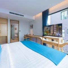 Отель Deep Blue Z10 Pattaya Стандартный номер с различными типами кроватей фото 17