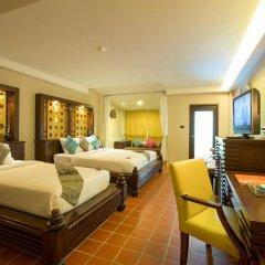 Отель Aonang Princeville Villa Resort and Spa 4* Семейный номер Делюкс с двуспальной кроватью фото 15