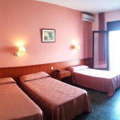 Отель Cuatro Naciones 2* Стандартный номер с различными типами кроватей фото 11