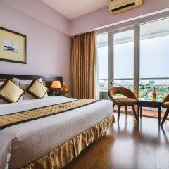 Mondial Hotel Hue 4* Улучшенный номер с различными типами кроватей фото 3