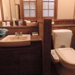 Отель Ryokan Yunosako Япония, Минамиогуни - отзывы, цены и фото номеров - забронировать отель Ryokan Yunosako онлайн ванная
