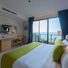 Отель Deep Blue Z10 Pattaya Стандартный номер с различными типами кроватей фото 33