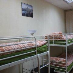 Гостиница Аэрохостел Кровать в общем номере с двухъярусной кроватью фото 3