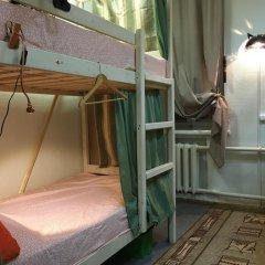 Хостел Пара Тапок на Маяковской Кровать в общем номере с двухъярусной кроватью фото 4