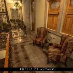 Puebla de Antaño Hotel балкон