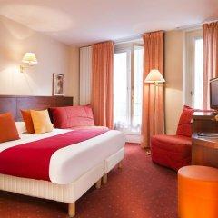 Отель Hôtel Londres Saint Honoré 2* Стандартный номер с различными типами кроватей фото 2