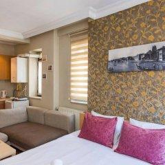 Отель Green Bird Suit 4* Студия с различными типами кроватей фото 3