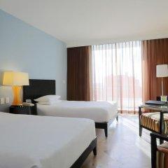 Отель Reflect Krystal Grand Cancun Улучшенный номер с различными типами кроватей фото 7
