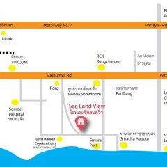 Отель Sea Land View городской автобус